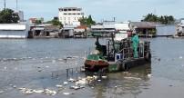 Vấn nạn rác trên sông ở tỉnh Cà Mau
