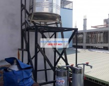Công trình xử lý nước giếng tại Quang Trung, Gò Vấp