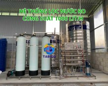 Máy lọc nước RO công suất 1000 Lít/giờ