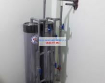 Lọc nước giếng bị phèn ở Liên Ấp 123, Vĩnh Lộc A