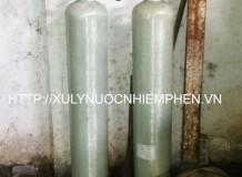 Hệ thống xử lý nước nhiễm phèn cột Composit 948