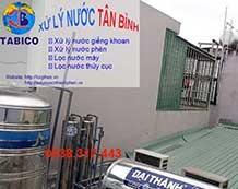 Lọc nước giếng khoan ở Bình Trị Đông A, Bình Tân