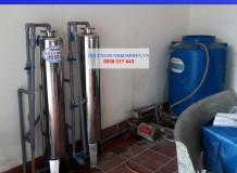 Lọc nước máy nhiễm phèn ở Hiệp Thành, Q12