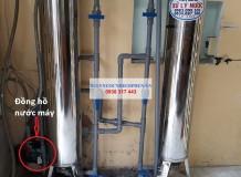 Lọc nước máy ở Hiệp Bình Chánh, Thủ Đức