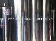 Lọc nước nhiễm phèn 03 cột inox 350 dùng van 3 ngã
