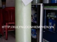 Hệ thống xử lý nước nhiễm phèn cột Composite 844