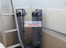 Lọc nước nhiễm phèn ở Phan Văn Hớn, HM