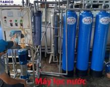 Hệ thống lọc nước RO công suất 250 lít/h