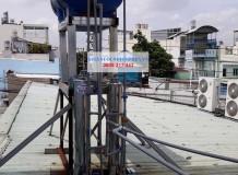Xử lý nước giếng khoan ở BHX đường số 8, Bình Tân
