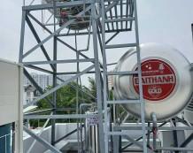 Xử lý nước giếng khoan ở TTN 18, Quận 12
