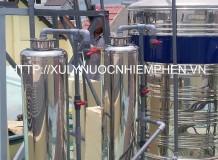 Xử lý nước máy cột inox 250