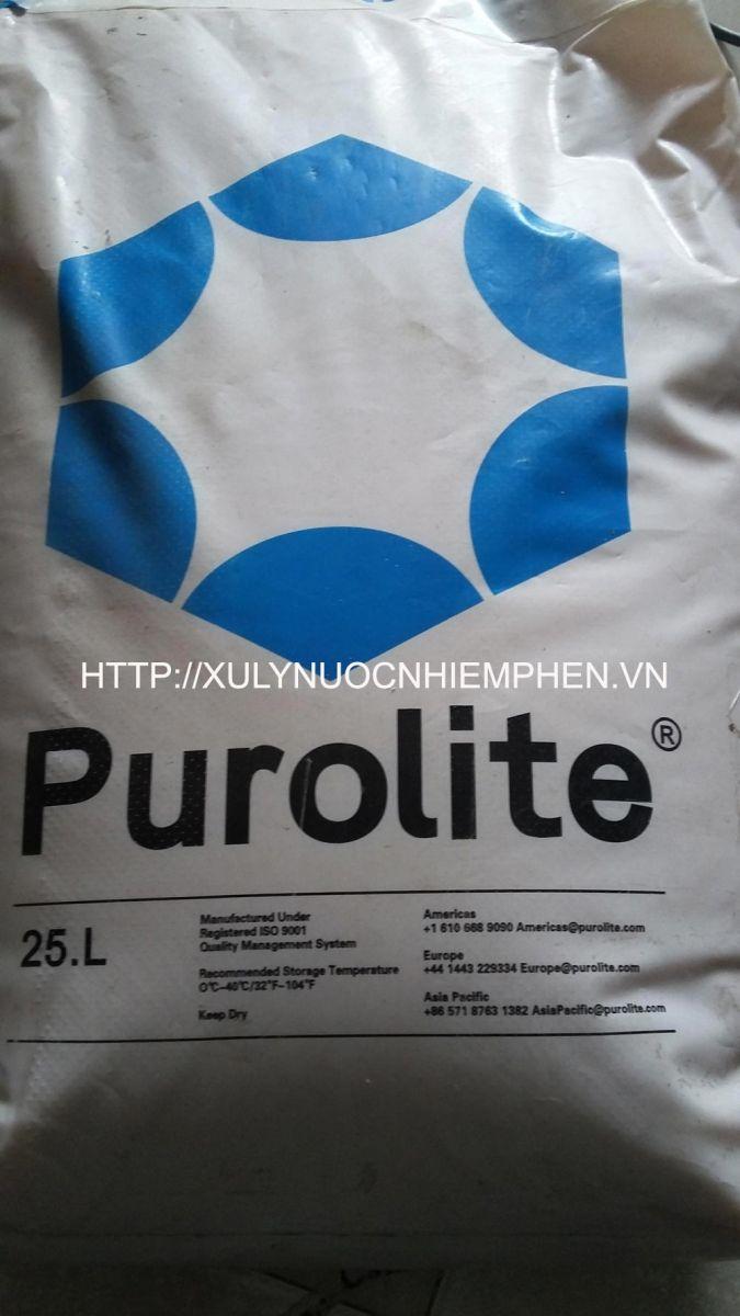 hat cation purolite