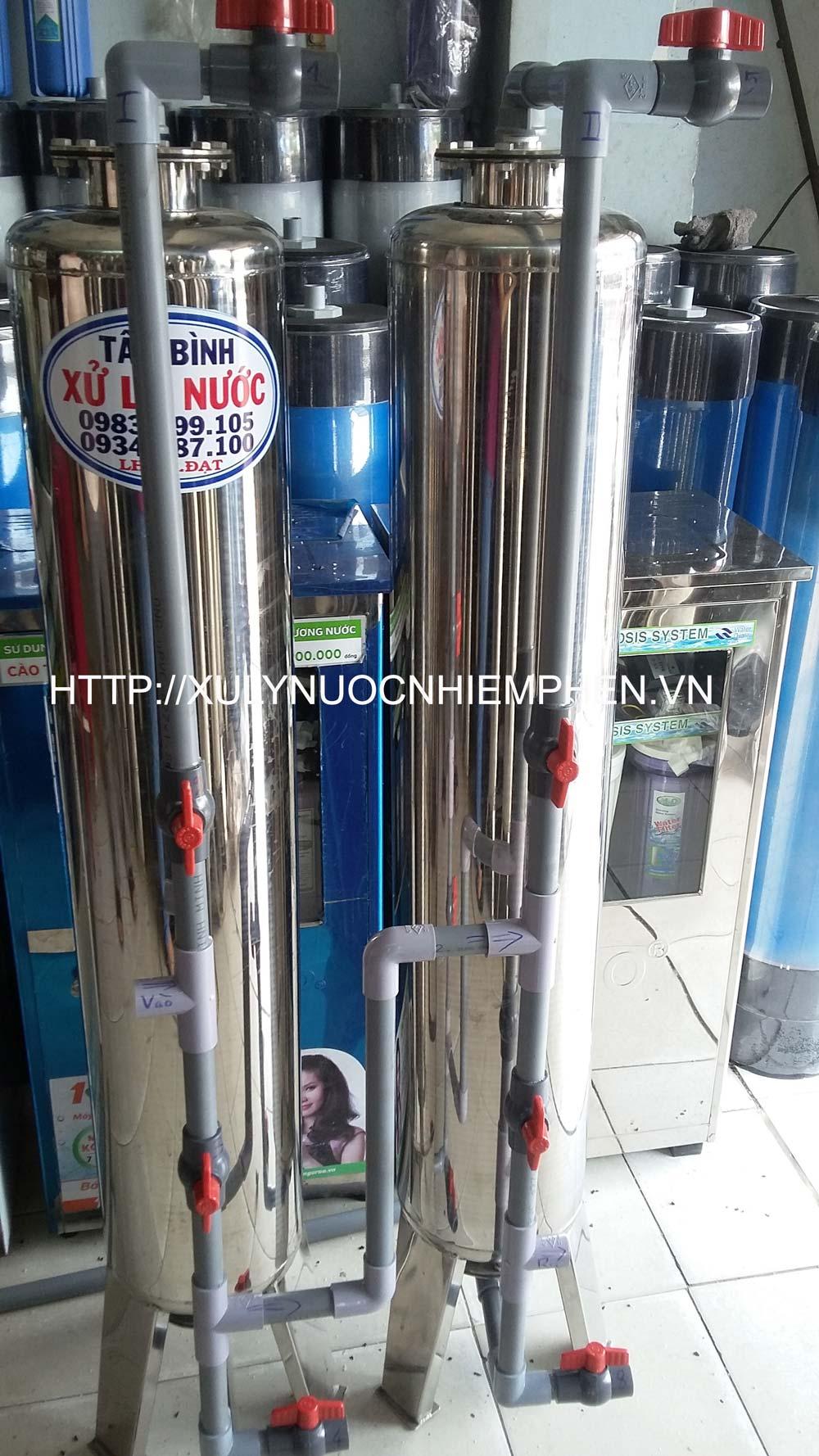 Video hướng dẫn lắp rắp cột lọc nước giếng khoan cho khách hàng ở tỉnh